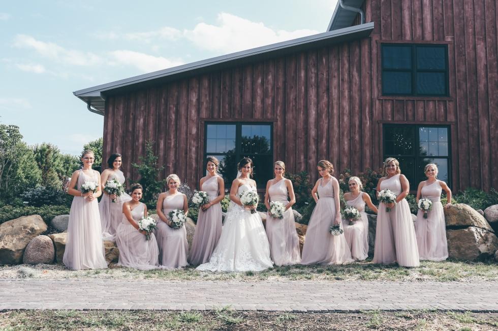 The Barn At Hornbaker Gardens Wedding Katie Dalton Princeton Illinois